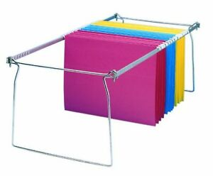 Charles Leonard Hanging File Frames Legal Size Metal 6 pack 960