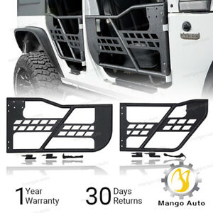 Rock Crawler Off Road Front rear Tubular 4 Door Set Fit 07 18 Jeep Wrangler Jk