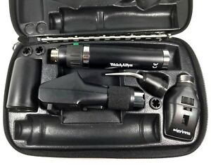 Welch Allyn 3 5v Elite Streak Retinoscope Diagnostic Set W Lithium Ion Handle