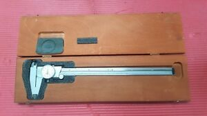 American Made Starrett 12 Inch Dial Caliper Model 120 Machinist Tools