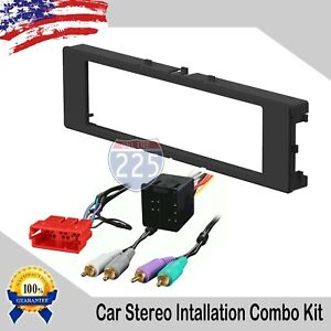 Car Stereo Radio Dash Installation Kit With Harness Audi A4 A6 A8 Tt 1996 2001