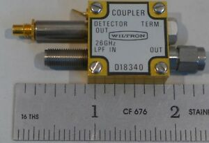 Wiltron Coupler D18340 26 Ghz