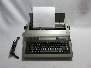 Panasonic Typewriter Kx r350 Computer Control Possible With This Typewriter
