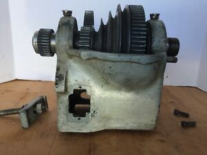 Atlas Craftsman 12 Lathe Headstock With Back Gears Timken Bearings L4 2ta