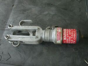 Kearney Hydraulic Cable Cutter With Case Used