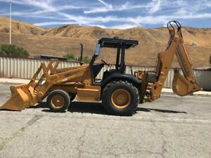 Case 580sl Backhoe Only 1135 Hours Since New Ex California City Rust Free