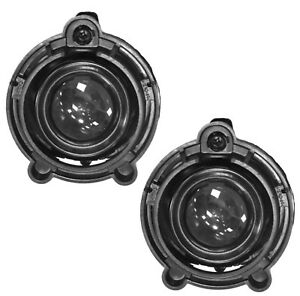 Pair Fog Light Lamps For Buick Cadillac Chevrolet Gmc Oe 10335108 22830038