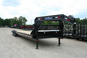 40 Foot Carhauler equipment Gooseneck Trailer load Trail max Ramps brand New