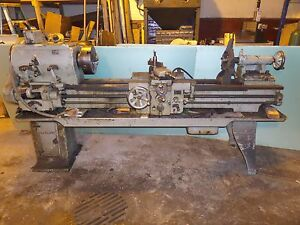 Vintage Leblond 17 Regal Metal Lathe With Lots Accessories Video Watch It Run