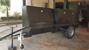 Ribmaster Street Bbq Smoker Jack Wheel Street Vendor 36 Grill Trailer Food Truck