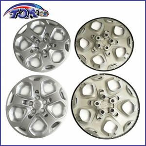 4pcs New 17 Inch Wheel Covers Rim Hub Caps For 10 12 Ford Fusion