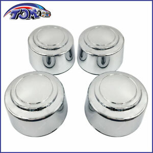 8 Lug 16 Inch Chrome Wheel Center Hub Caps Nut Covers Alloy For Ford Truck Van
