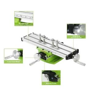 Compound Bench Drilling Slide Table Worktable Milling Working Cross Table E3z4