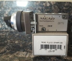 new Mead 5 Port 4 Way 2 Position Pneumatic Control Valve Ltv tp