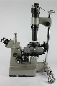 Olympus Im Inverted Microscope W Objectives Free Shipping Usa new Lamp