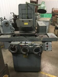 Brown Sharpe Micromaster 618 Surface Grinder 6 x18 Fine Pole Magnetic Chuck