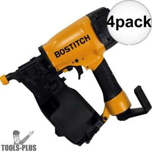 Bostitch N66c 1 4pk 1 1 4 To 2 1 2 15 Deg Coil Siding Nailer New