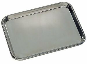 Grafco 3264 Flat Type Instrument Tray Stainless Steel 19 X 12 1 2 X 5 8