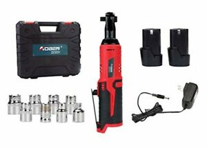 Cordless Electric Ratchet Wrench Set Aoben 3 8quot 12v Power Ratchet Tool Kit