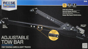 Reese Towpower Adjustable Tow Bar Hitching Accessories And Towing Parts