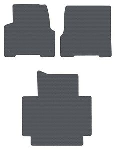 Volvo Truck Vnl Vt automatic Gray All weather 3pc Floor Mats Fit 2004 2018