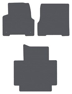 Volvo Truck Vnl Vt automatic Gray All weather 3pc Floor Mats Fit 1998 2018