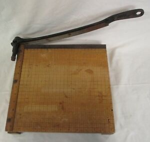 Wood Ingento 4 Trimmer Paper Cutter 12 Cutting Board Heavy Duty Guillotine ad
