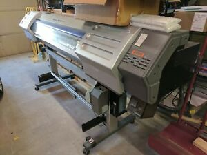 Used Roland Soljet Ii Sc 540 Print Cut With Ink Cartridges Needs New Heads