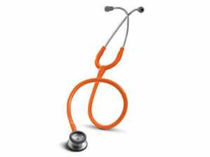 3m 2155 Littmann Classic Ii Pediatric Infant Stethoscope 28 In Orange Tubing