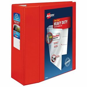 Avery Heavy Duty View Binders With One Touch Ezd tm Ring Holds 8 1 2 Inch X