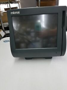 Micros Workstation 4 Pos Touchscreen Trminal With Stand 400614 001