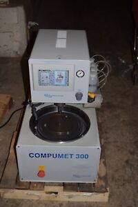 Lapmaster Compumet 300 Programmable Auto Polisher Pressure Sample Holders