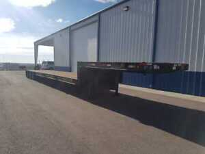 Extendable Trailking Step Deck Trailer 3 Axle Load Capacity 86300lbs