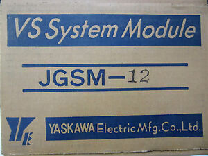 Yaskawa Jgsm 12 Amplifier Module New In Original Box Free Shipping