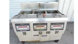 Henny Penny Electric 3 Bay Open Fryer Digital Programmable Controls