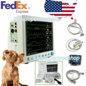 Contec Veterinary Icu Vital Signs Patient Monitor 6 Parameters Ce Fda Cms8000 Us