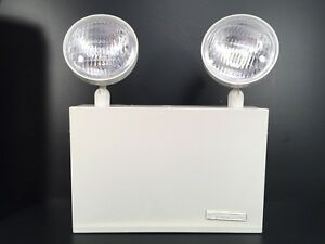 Thomas And Betts 12 Volt Emergi lite Wall Mount Dual Round Lamps