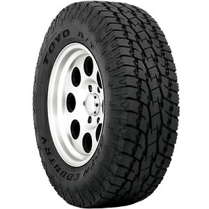 4 New 285 70r17 Toyo Open Country A T Ii All Terrain 4ply 285 70 17 2857017 Bl