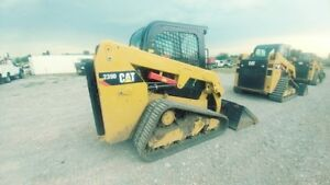 2016 Caterpillar 239d Cab A c Track Skid Steer Loader Hyd Quick Used