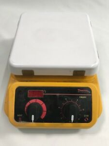 Thermo Scientific Cimarec hot Plate Magnetic Stirrer 7 X 7 Sp131325 Digital