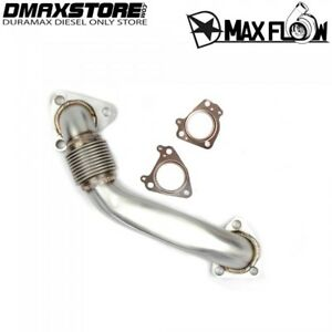 Heavy Duty Bolt On Passenger Side Up Pipe W Gaskets For Lb7 Lly Lbz Lmm Lml 6 6