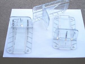 Metal Roofing Snow Guards 10 Pack Clear Ribbed