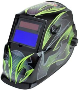 Lincoln Electric Auto darkening Welding Helmet Variable Shade Lens Viewing Area
