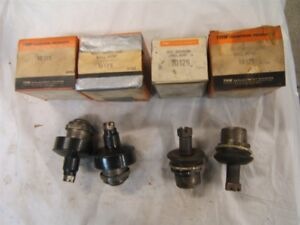 1960 1961 Plymouth Valiant Dodge Lancer Ball Joints Set 4 Trw Usa Made Nors New