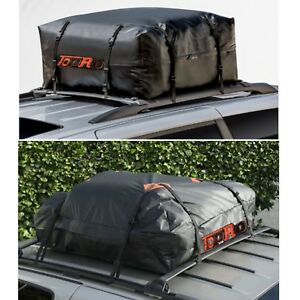 Rooftop Cargo Bag Waterproof Car Van Suv Travel Roof Top Luggage Storage Carrier