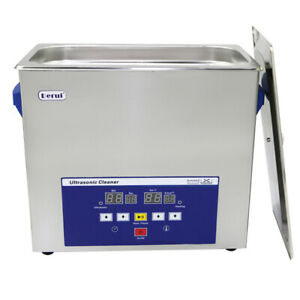 6l Industry Dental Lab Jewellry Watch Pcb Ultrasonic Cleaner With Memory Quick
