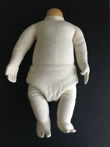 1973 Bay Area Display Cloth Bendable Baby Mannequin 3 Months 18 Long