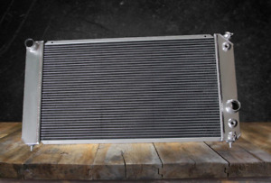 3 Row All Aluminum Cooling Radiator Fit Gmc Sonoma Sierra 1500 2000 2005