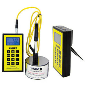 Phase 2 Pht 1700 Portable Hardness Tester