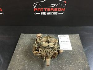 1976 Buick Full Size Carburetor Rochester M2mc 4bc Federal